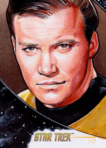 2016 Star Trek TOS 50th Anniversary Sketch Cards Mike James