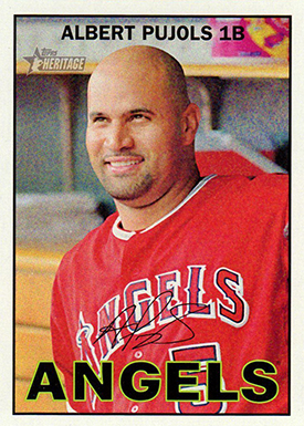 2016 T Her Color 481 Pujols