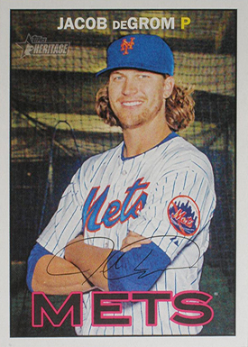 2016 T Her Color 495 deGrom