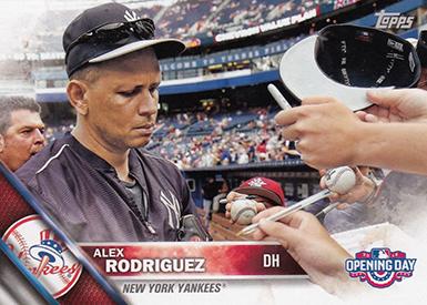 2016 T OD Var 28 Alex Rodriguez