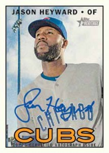 2016 Topps Heritage High Number Baseball Real One Autographs