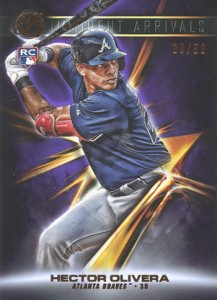 2016 Topps Legacies of Baseball Imminent Arrivals Hector Olivera