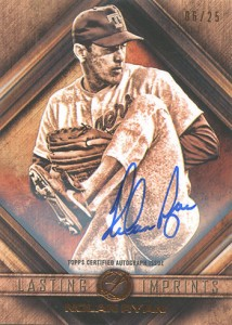 2016 Topps Legacies of Baseball Lasting Imprints Autographs Nolan Ryan