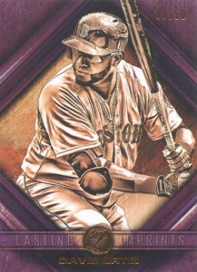 2016 Topps Legacies of Baseball Lasting Imprints David Ortiz