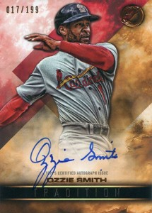 2016 Topps Legacies of Baseball Tradition Autographs Ozzie Smith