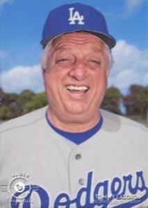 2016 Topps Legacies of Baseball Vault Metals Tommy Lasorda