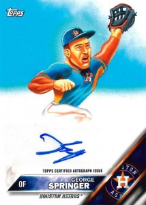 2016 Topps MLB Wacky Packages Active Athlete Autographs