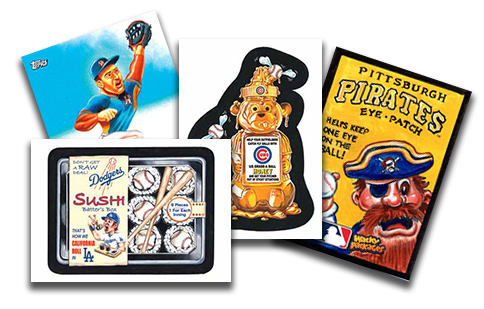 2016 Topps MLB Wacky Packages Header