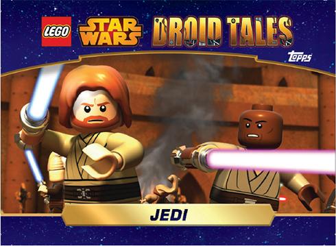 2016 Topps Star Wars Droid Tales DT1-Jedi