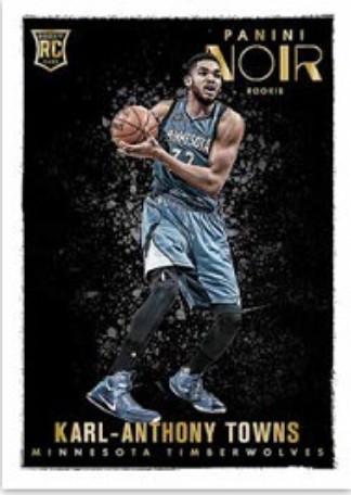 2015-16 Panini Noir Basketball Towns color