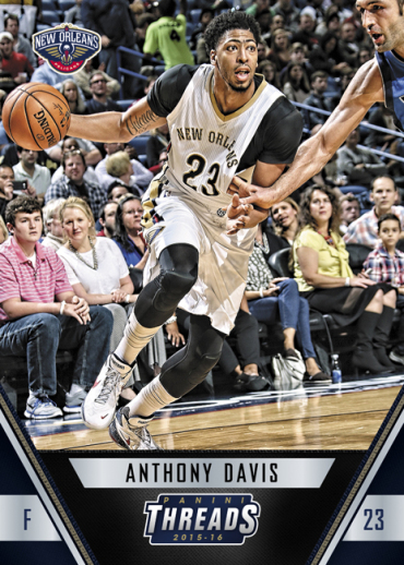 2015-16 Panini Threads Basketball Davis