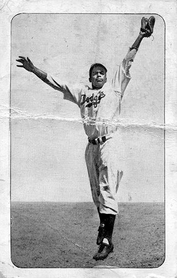 1947 Bond Bread Jackie Robinson 12