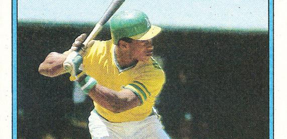 1980 Topps Rickey Henderson Rookie Card PSA 10 FB