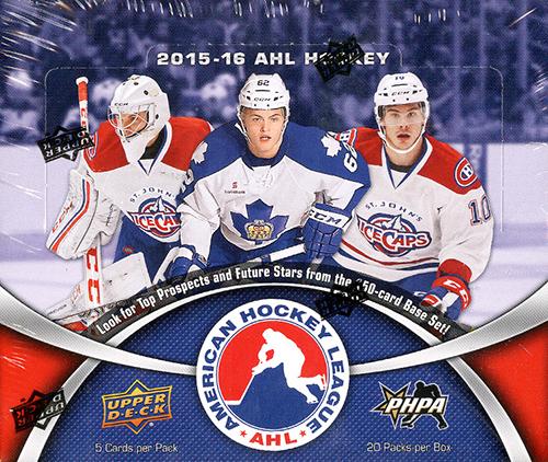 2015-16 Upper Deck AHL Hockey Box