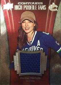 2015-16 Upper Deck Contours High Profile Fans Rachel Nichols