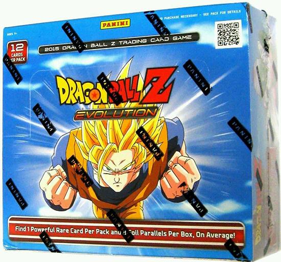 2015 Panini Dragon Ball Z Evoltuion Box