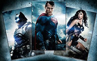 2016 Batman v Superman Digital Download Cards