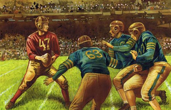 2016 Historic Autographs Art of Football Series 1