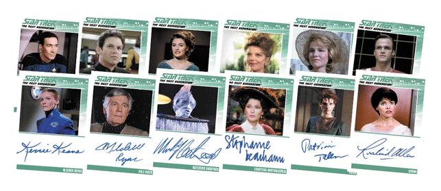 2016 Star Trek TNG Portfolio S2 Autographs
