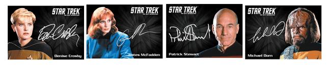 2016 Star Trek TNG Portfolio S2 Silver Signature