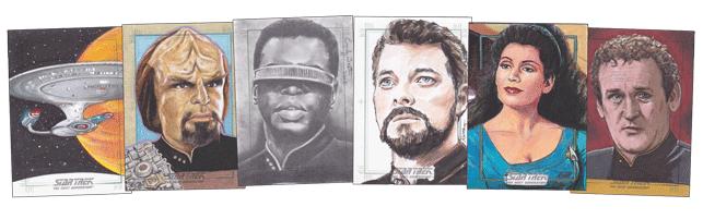 2016 Star Trek TNG Portfolio S2 Sketch Cards