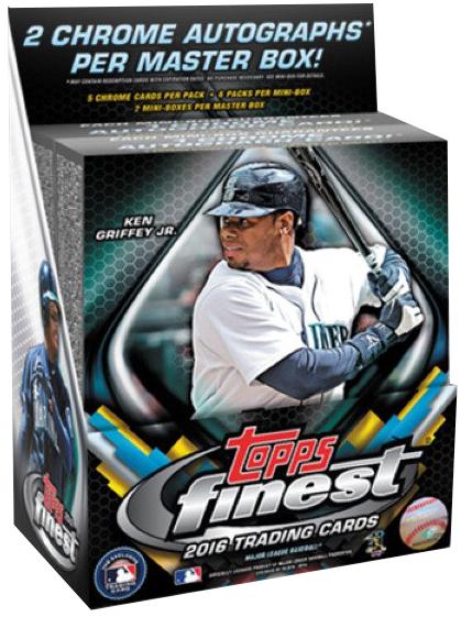 2016 Topps Baseball Hobby Box