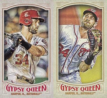 2016 Topps Gypsy Queen Baseball Mini Variations Header