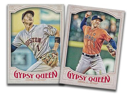 2016 Topps Gypsy Queen Baseball Variations Header
