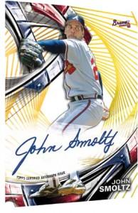 2016 Topps High Tek Baseball Autograph Gold Rainbow