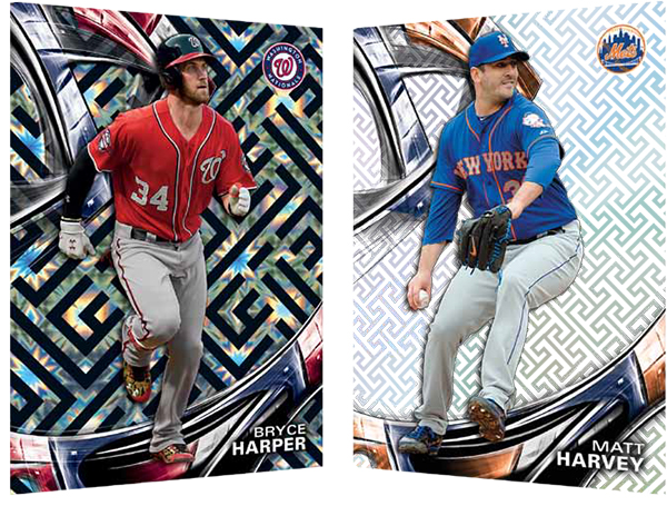 2016 Topps High Tek Baseball Base Pair