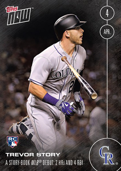 4 Trevor Story, Colorado Rockies