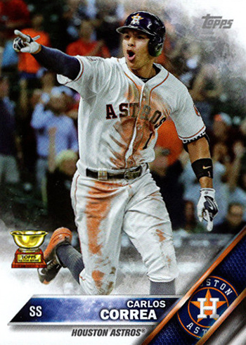 2016 Topps Restless for a Cause Carlos Correa Front