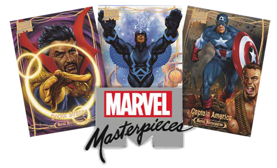 2016 Upper Deck Marvel Masterpieces Header