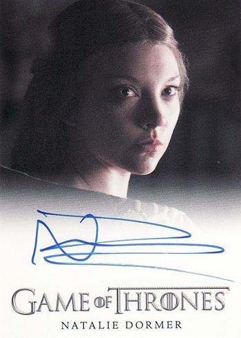 GOT S3 Peter Natalie Dormer Autograph