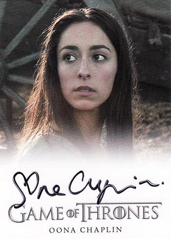 GOT S3 Peter Oola Chaplin Autograph