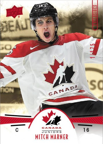 2016-17 Upper Deck Team Canada Juniors Hockey Marner