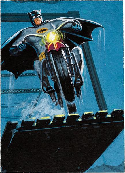 1966 Batman Red Bat Orginal Art 10 Norman Saunders Bob Powell 600