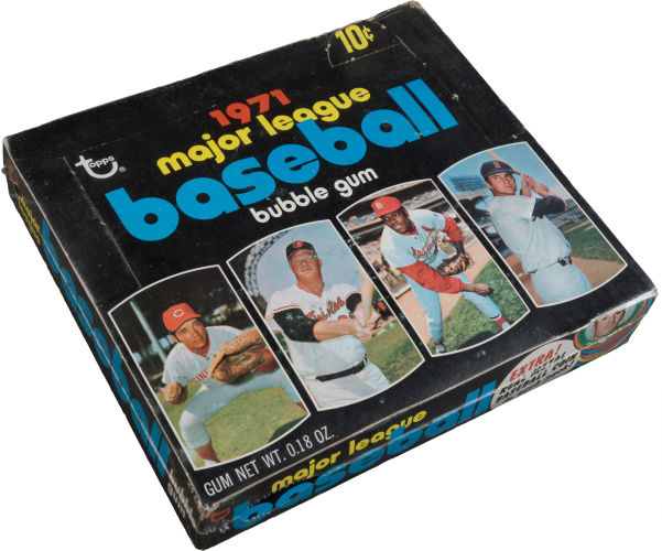 1971 Topps 4th Series Box