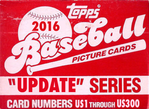 2016 Topps Update Baseball Box Set Mock-Up