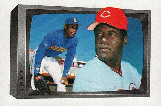 1989 Bowman Ken Griffey Jr Ken Griffey Sr
