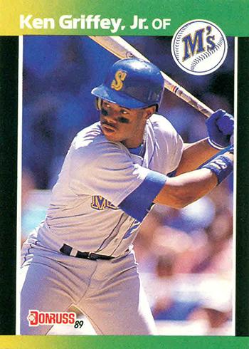 1989 Donruss Baseballs Best Ken Griffey Jr