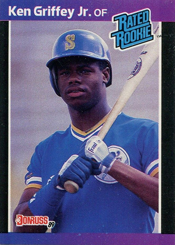 1989 Donruss Ken Griffey Jr RC