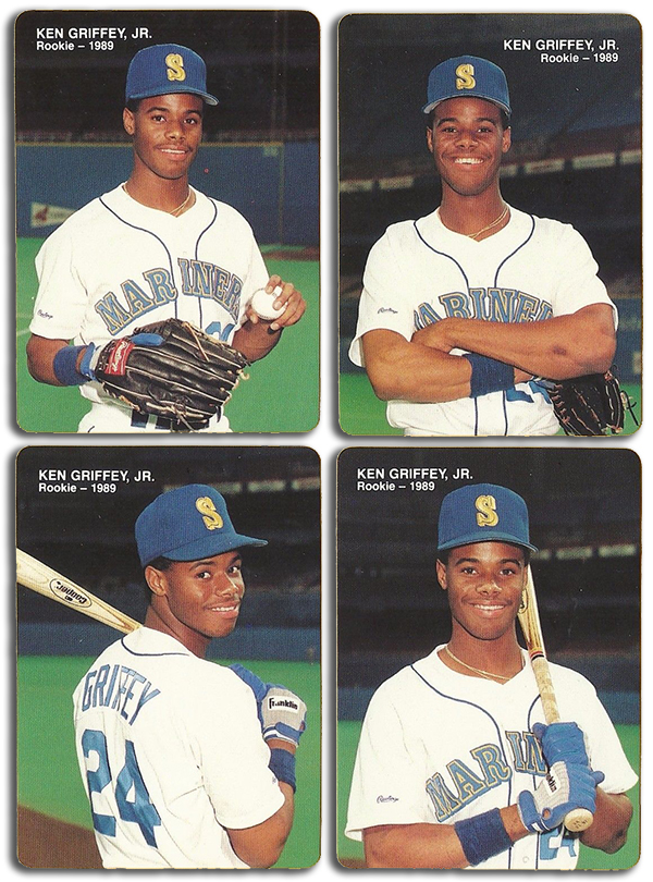 1989 Mother's Cookies Ken Griffey Jr Set