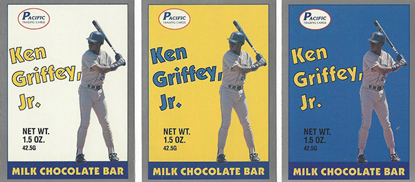 1989 Pacific Griffey Candy Bar Ken Griffey Jr
