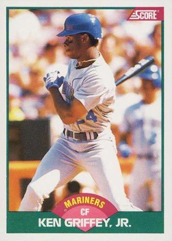 1989 Score Rookie-Traded Ken Griffey Jr