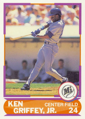 1989 Score Young Superstars II Ken Griffey Jr