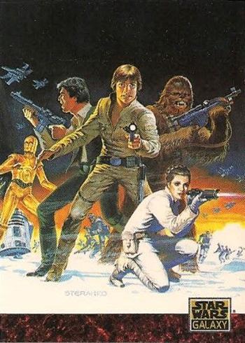 1993 Topps Star Wars Galaxy