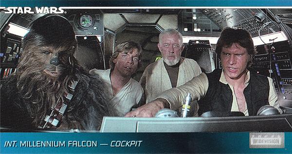 1995 Star Wars Widevision