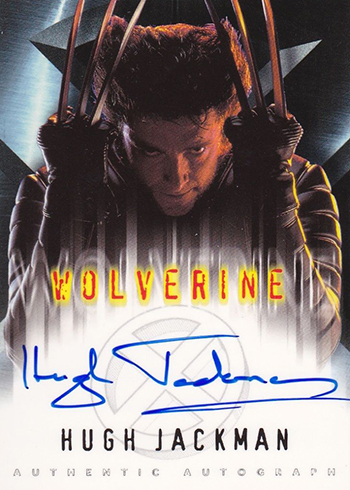 2000 X-Men Autographs Hugh Jackman