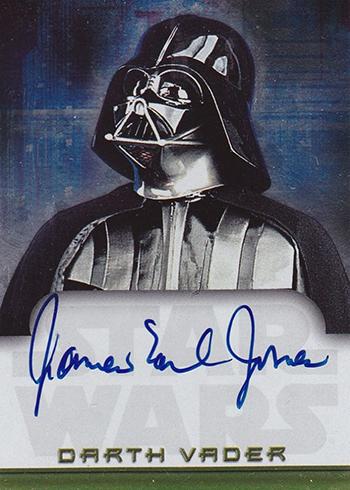 2001 Star Wars Evolution James Earl Jones Autograph